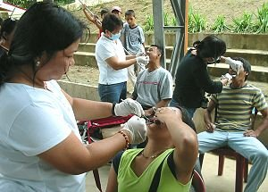 Medical-Dental mission in San Jorge, Samar